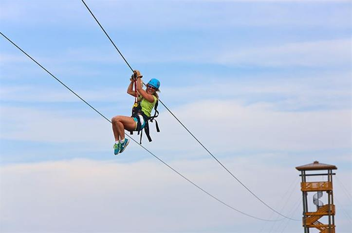 don't miss out on ziplining during your gulf shores spring break