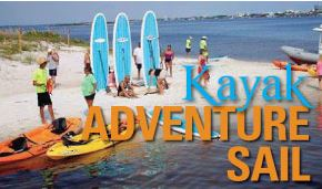 Kayak Adventure Sail
